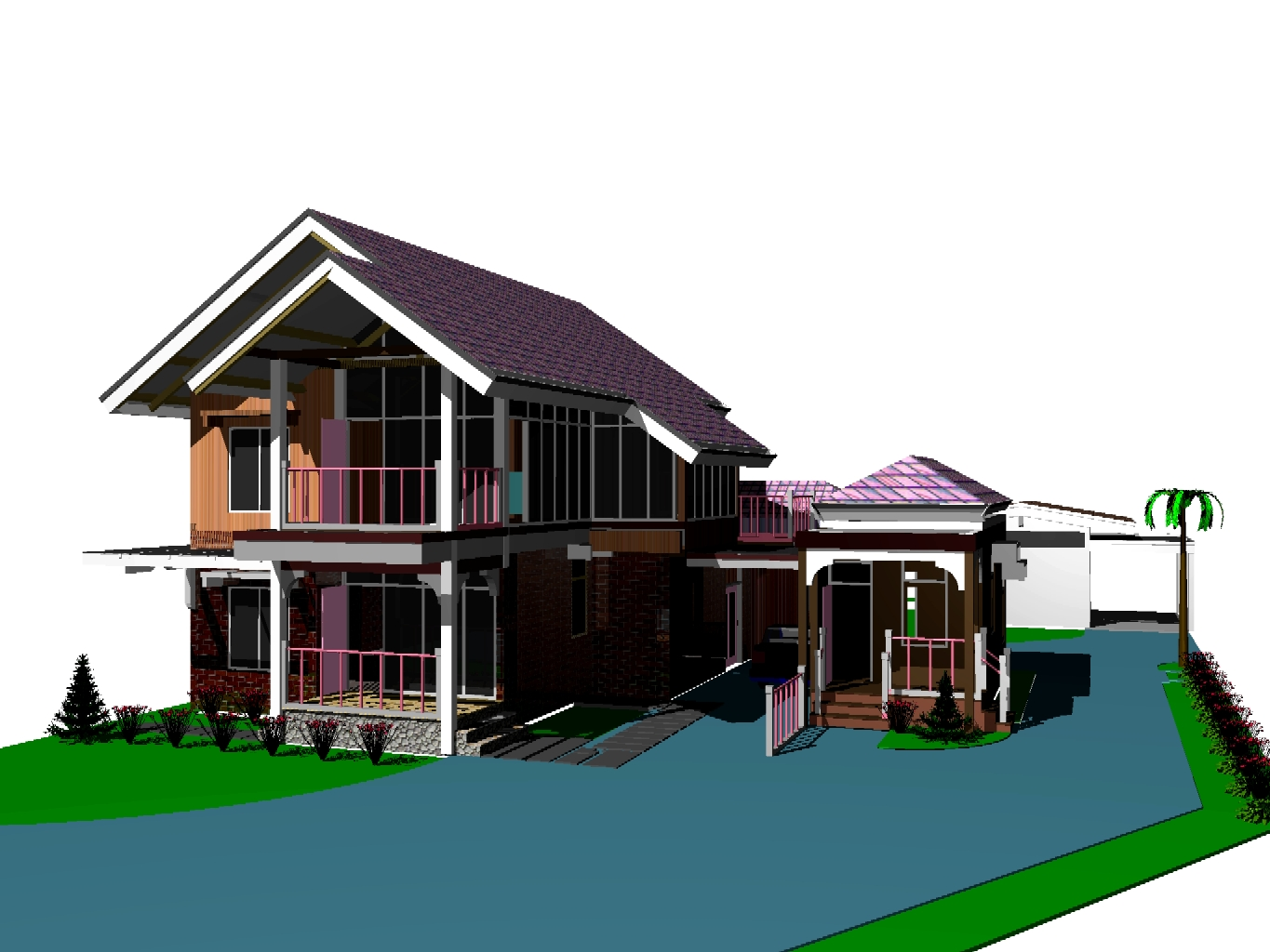 Two storey residential house design 28 images design for Residential house design